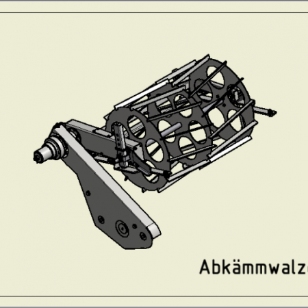 Abkämmwalze